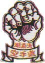 Image of Badges Embroidered - Goju Ryu Fist (A9)