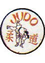 Image of Badges Embroidered - Judo 2 Throws (A20)