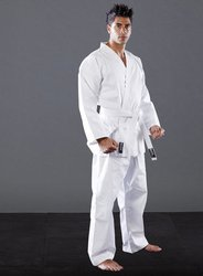 Student Gi - White 100% Cotton